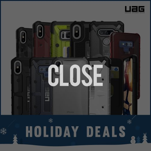 UAGCASE HOLIDAY DEALS_러기드케이스